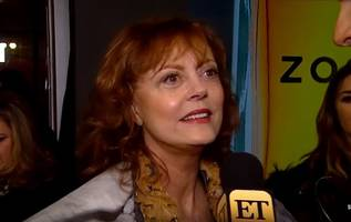 Susan Sarandon on Piers Morgan Feud: He 'Has Way Too Much Time on His Hands'