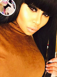 Are Blac Chyna and Rob Kardashian engaged? Model flashes HUGE diamond ring at Carnival