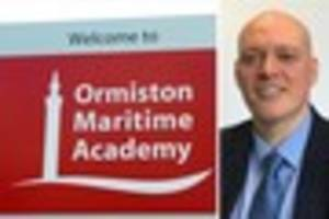 New Ormiston Maritime Academy principal pledges to continue...