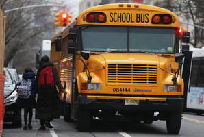 11 Children Go to Hospital After SUV Runs Into School Bus in New York