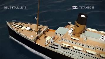 replica of rms titanic to set sail in 2018