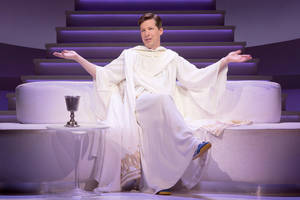 'an act of god' la theater review: sean hayes makes an almighty scene