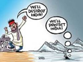 satish acharya on... india's polar opposites