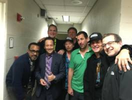 adam sandler covers the who's my generation with eddie vedder, david spade, norm macdonald, rob schneider, more