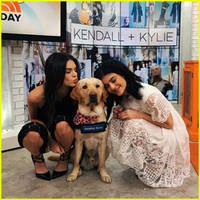 kendall & kylie jenner promote their new fashion line in nyc