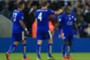 arsenal v leicester city news: n'golo kante pinching himself at...