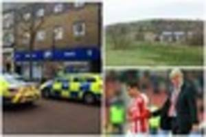 Man injured himself  in Boots and four other stories Stoke-on-Tre...