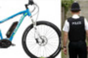 Electric bike belonging to woman with heart condition stolen from...