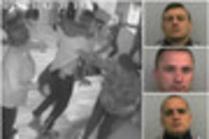 watch - the moment boxer sparks bar brawl which landed him in...