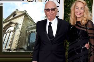 rupert murdoch and jerry hall wedding details revealed – couple to celebrate at fleet street church