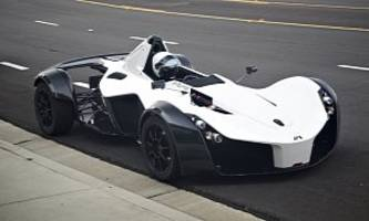 the bac mono loosens up a little, accepts larger persons in its cockpit