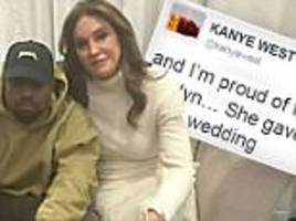 Kanye West defends Caitlyn Jenner after cruel jibes… then gives 'lil sis' Rihanna his backing in another epic Twitter rant