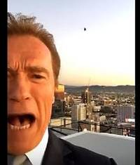 Arnie's Snapchat classic goes viral