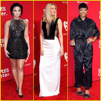 Demi Lovato Celebrates Lionel Richie at MusiCares Person of the Year Event