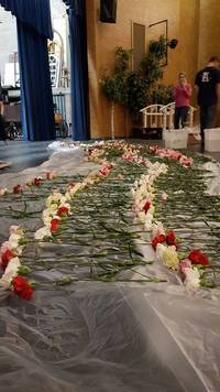 900 Carnations Handed Out To High School Students By Utah Teen