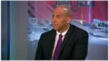 video: booker: 'happy with the job i have'
