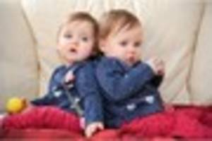 baby twins from the west country on tv in ruth jones' stella