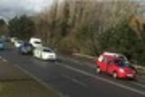 police called to collision in derby
