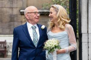 rupert murdoch and jerry hall host fleet street ceremony