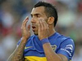 carlos tevez rues misses as boca juniors draw 0-0 with river plate in superclasico