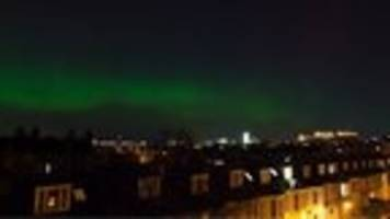 video: solar wind behind the aurora borealis