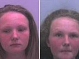 preston 14-year-old twin sisters known as 'the boom girls' given asbos
