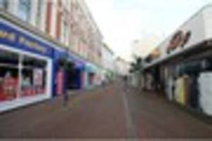 teignmouth town centre pavements could become 'soulless sea of...