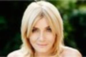 michelle collins reinvents herself as baroness bomburst in chitty...