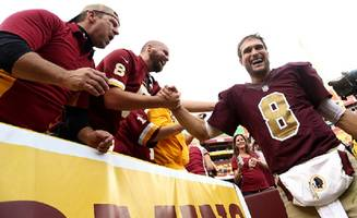 redskins qb kirk cousins 'content' with franchise tag