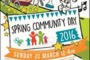 have fun at community day at  exeter university campus