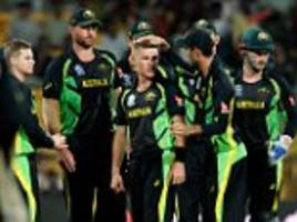 australian cricketers in indian bomb scare