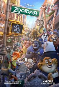 MOVIE REVIEW: Zootopia (Zootropolis)