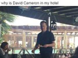 david cameron flies to lanzarote for 'time to think' after tough week