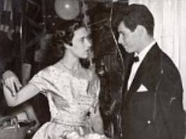 princess and the crooner: how glamorous margaret had passionate affair with american singing idol eddie fisher - as revealed by his daughter carrie fisher on tv show