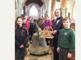 bells taken down at stoke fleming church as part of £40,000...
