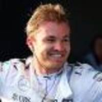 rosberg living the moment