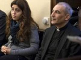 women charged with leaking vatican documents denies sex with priest