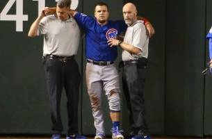 cubs' kyle schwarber out for the season with torn acl, lcl