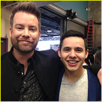 david archuleta congratulates winner trent harmon after 'american idol' finale