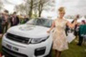 first time racegoer to aintree's ladies day walks away with...