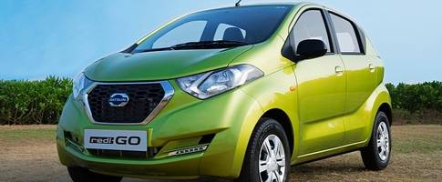 2016 datsun redi-go launched in india, has best-in-class ground clearance