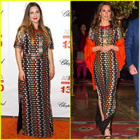 Drew Barrymore & Kate Middleton Wear Same Dress on Same ...