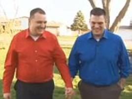 gay ohio couple chad michael and keith alan whose 'guest' threatened to ruin wedding will go ahead