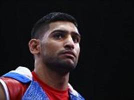 amir khan 'is not bothered' about kell brook bout as he prepares for mega-fight with 'canelo' alvarez
