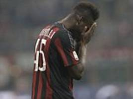 liverpool flop mario balotelli told he has 'no more chances' to try and secure a permanent move to italian giants ac milan