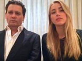 johnny depp and amber heard film quarantine video for barnaby joyce after dog saga