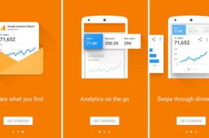 google refreshes analytics with material design guidelines