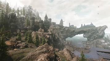 fan enlarges skyrim's towns with a mod that's three years in the making