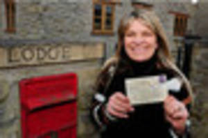 postcard delivered to bristol home more than half a century after...