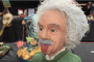 albert einstein bust wins international award - but what is it?